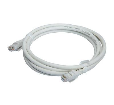 Bitcorez, PVC Cat 6 UTP Patch Cable, 5M, White