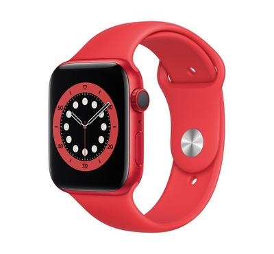 Apple Watch Series 6 GPS + Cellular, 44MM Aluminium Case with (PRODUCT)RED Sport Band