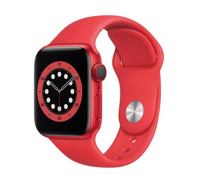 Apple Watch Series 6 GPS + Cellular, 40MM Aluminium Case with (PRODUCT)RED Sport Band