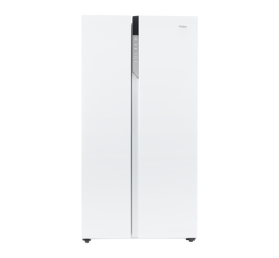 Haier Side by Side Refrigerator, 17.8 Cu.Ft./504 Ltrs,White