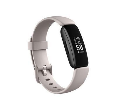 Fitbit Inspire 2  Fitness Tracker Lunar, White Black