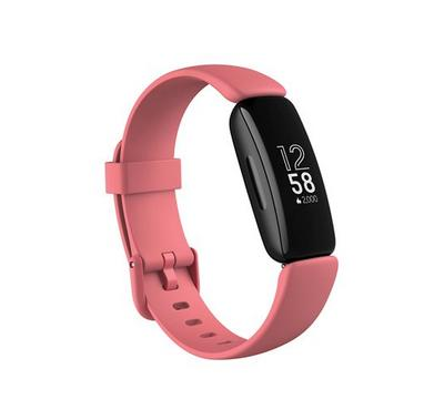 Fitbit Inspire 2 Fitness Tracker Desert, Rose Black