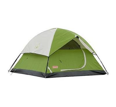 كولمان، خيمة صندوم ل3 أشخاص، خضراء