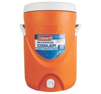 كولمان، ثلاجة المشروبات سعة 5 جالون، أزرق
