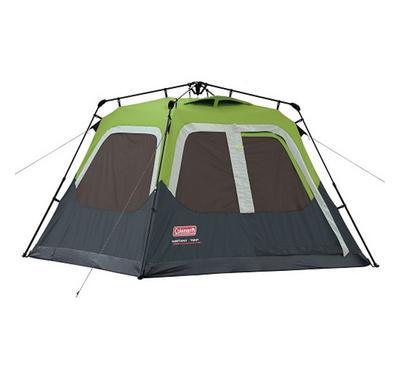 كولمان، خيمة الفورية، تتسع لأربعة أشخاص، أخضر