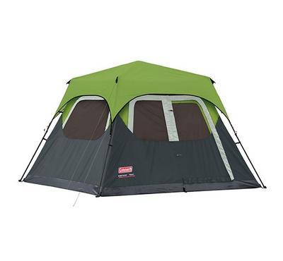 كولمان، خيمة الفورية لـ 6 أشخاص، أخضر