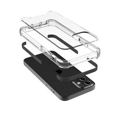 Jinya Defender Protecting Case for new iPhone 12 Mini , Black