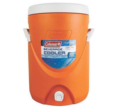 كولمان، مبرد، سعة 19 لتر، برتقالي
