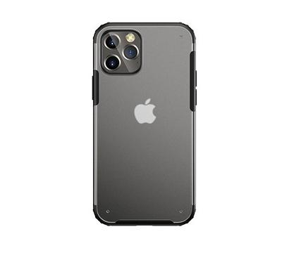 Jinya Armor Clear Protecting Case For iPhone 12&12 Pro,Black