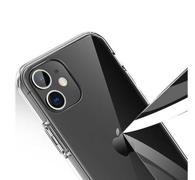 Jinya ClearPro Protecting Case for iPhone 12 Pro Max, Clear