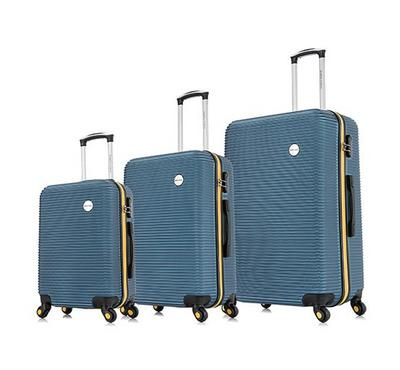 Travel Vision, Moony Set Of 3 20/24/28 Inch, Blue