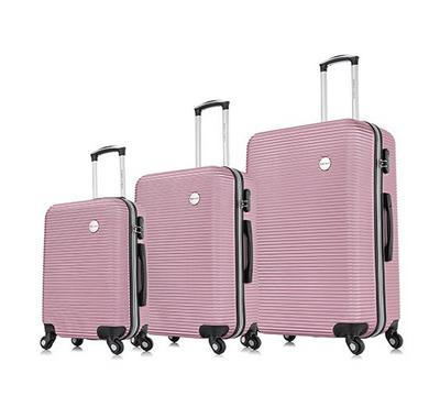 Travel Vision Moony  Set Of 3 20/24/28 Inch, Rose Gold