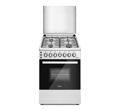 Clikon, Gas Cooking Range 60x60cm, With Grill, Silver
