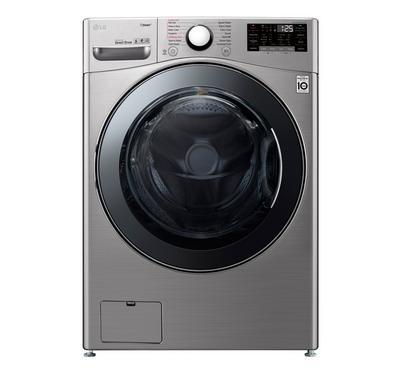 LG, Front Load Washer/Dryer, 18/10KG, Silver