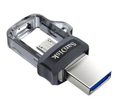 SanDisk 64GB Ultra Dual USB 3.0 Drive, Silver