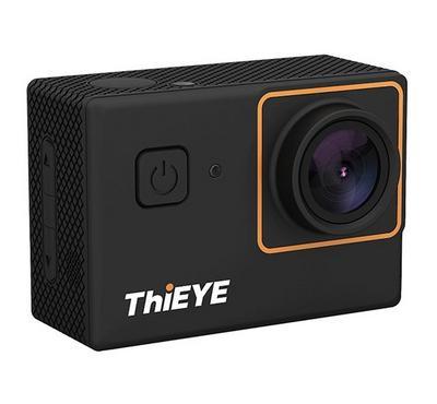 ذا أي، كاميرا أكشن 4 كي، 12 ميجا بيكسل ، واي فاي، مقاومة للماء، أسود