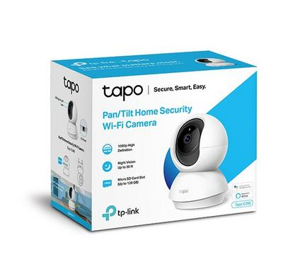 Tp-Link Wi-Fi Webcam, Home Security, High Definition Video, Advanced Night Vision, White