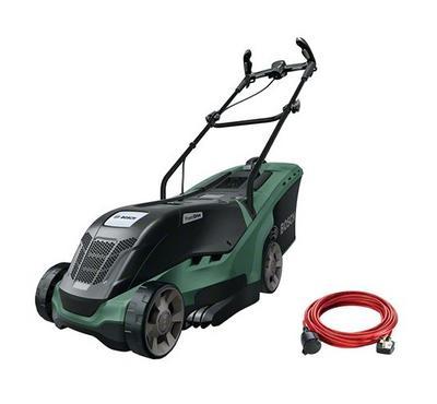 Bosch Universal Rotak, Lawan Mover, 1300W, 40 Ltr Grass Box, 10M, Green