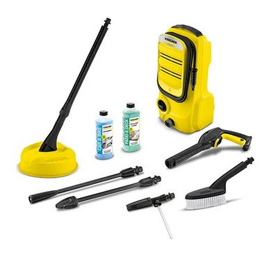 Karcher Compact Car & Home Washer, Including Accessories