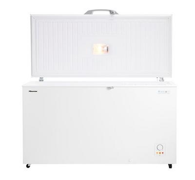 Hisense, Chest Freezer, 550.0L, Frost White