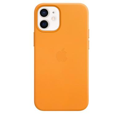 Apple iPhone 12 Mini Leather Case with MagSafe , California Poppy