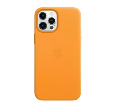 Apple iPhone 12 Pro Max Leather Case with MagSafe , California Poppy