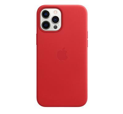 غطاء أبل أيفون 12 برو ماكس  ميج سيف سيليكون، برتقالي، أحمر