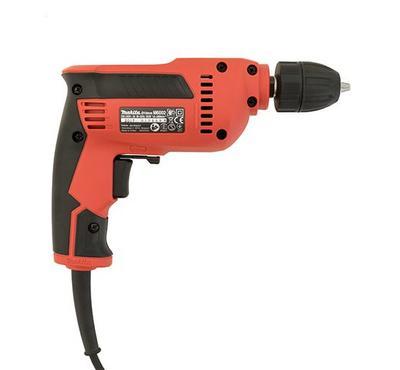Makita M6002, 10mm Corded Electric Drill, 450W, Black/Orange