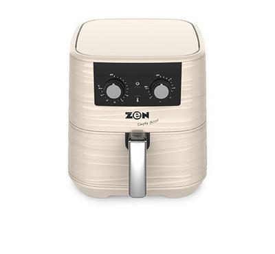 Zen, Analog Air Fryer, 1700W, 5.5L, White