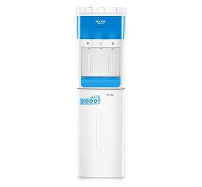فولتاس، براد مياه ذو تحميل سفلي، 630 واط، 3 حنفية ساخن / عادي / بارد، أبيض/أزرق