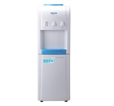 Voltas MINI MAGIC PURE-R, 3in1 Water Dispenser Floor Standing With Cabinet, 630W, Blue/White