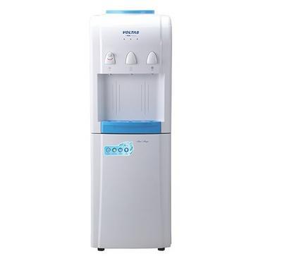 فولتاس، براد مياه، 630 واط، 3 حنفية ساخن / عادي / بارد، أبيض/أزرق