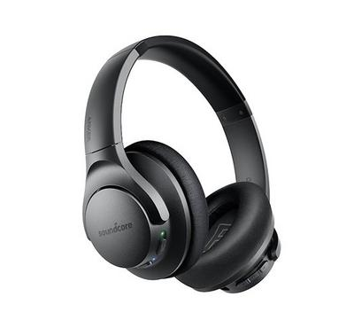 Anker Soundcore Q20 Bluetooth Headphones, Black.