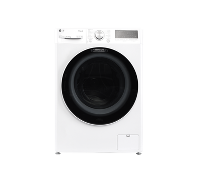 LG Frontload Automatic Washer 8kg and 5kg Dryer Combo, White
