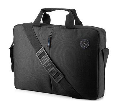 HP Bundle Focus Topload Bag + In-Ear Headset, Black&Red.