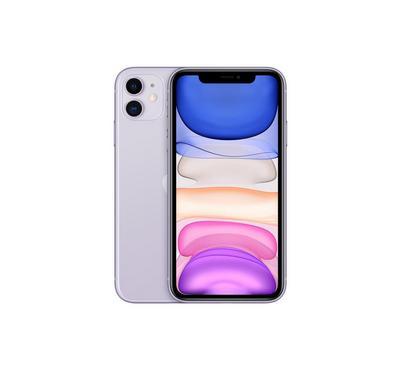 Apple iPhone 11, 4G, 128GB, Purple, New Edition