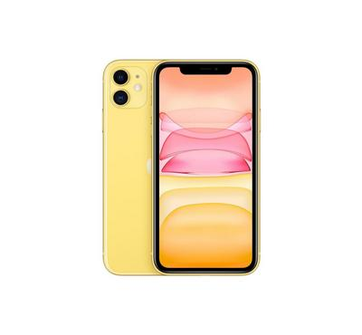 Apple iPhone 11, 4G, 128GB, Yellow, New Edition