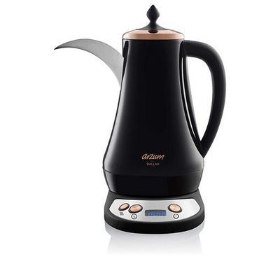 Arzum Dallah Arabic Coffee Maker,1.3L , 1300W, Black.