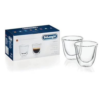 Delonghi Espresso 2 Double Wall Thermo 2x 0.6L