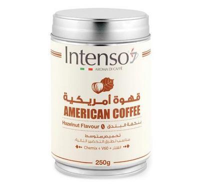 Intenso American Coffee 250g, Hazelnut Flavor