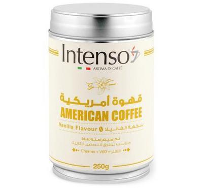 Intenso American Coffee 250g, Vanilla Flavor