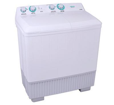Hisense Washing Machine Twin Tub,12.0KG, Plastic Body, White.