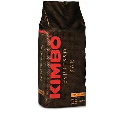 Kimbo Top Flavour Coffee 1Kg,  100% Arabica, Medium Roast