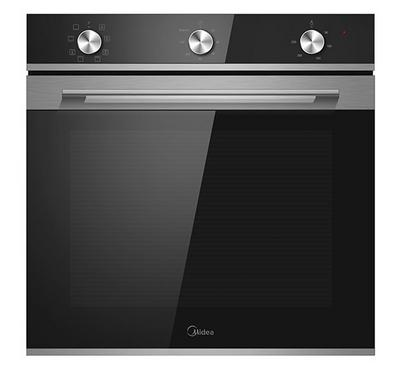 Midea Built-in Electric Oven With Convection,60cm, 65.0L, 2300W, Black.