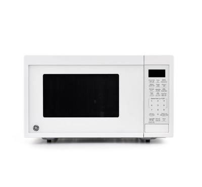 GE Microwave, 0.9 Cu Ft, Touch Controls, 10 Power Levels, 900W, White