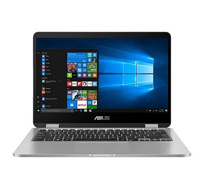 Asus TP Convertible Laptop, Celeron N4020,14 inch,4GB RAM, 64GB,Light Grey
