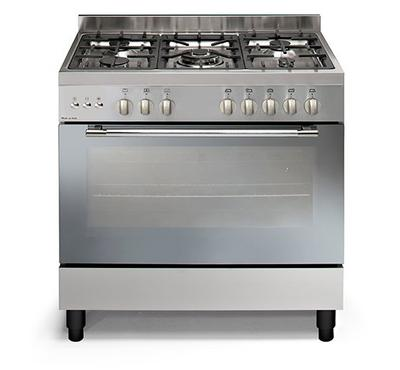 Vincenti Gas Cooking Range,90x60cm,Full Safety Stainless Steel.