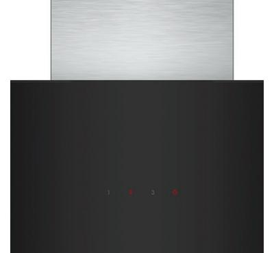 Bosch Serie 4 Wall-Mounted Glass Chimney Hood,Black & Grey