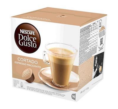 NescafeDolceGusto Cortado Espresso Macchiato 16 Capsules