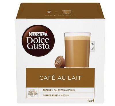 Nescafe DolceGusto CafeAu Lait 16 Capsules